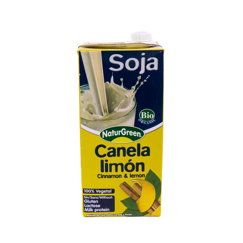 Bebida soja canela y limon 1L Naturgreen