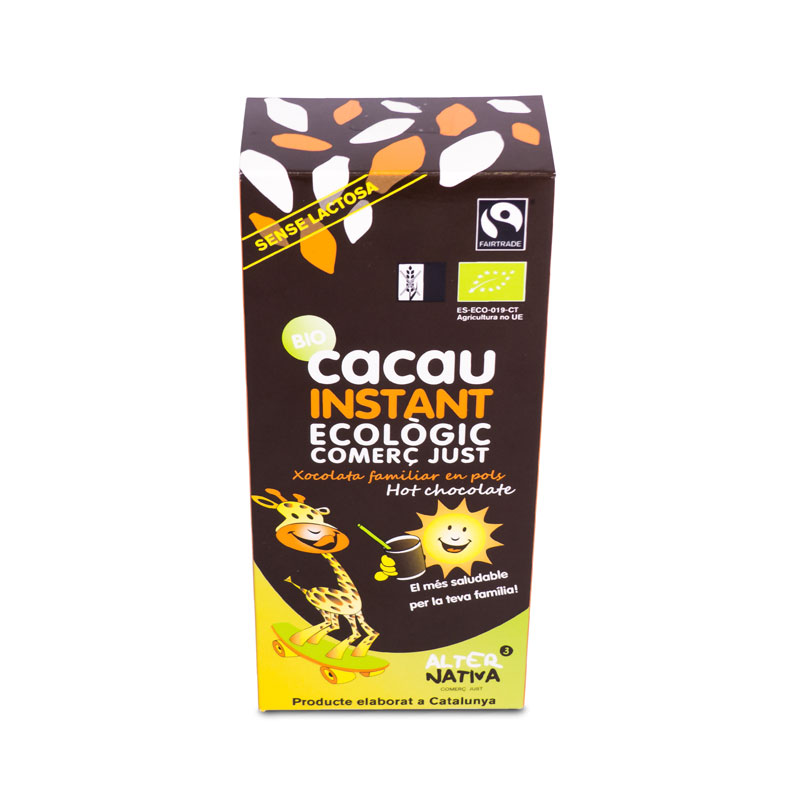 Cacao Instantaneo 250 gr. Alternativa3