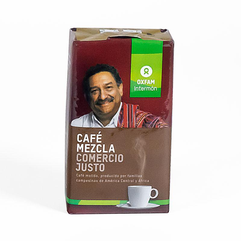 Café molido mezcla 250gr  Intermon