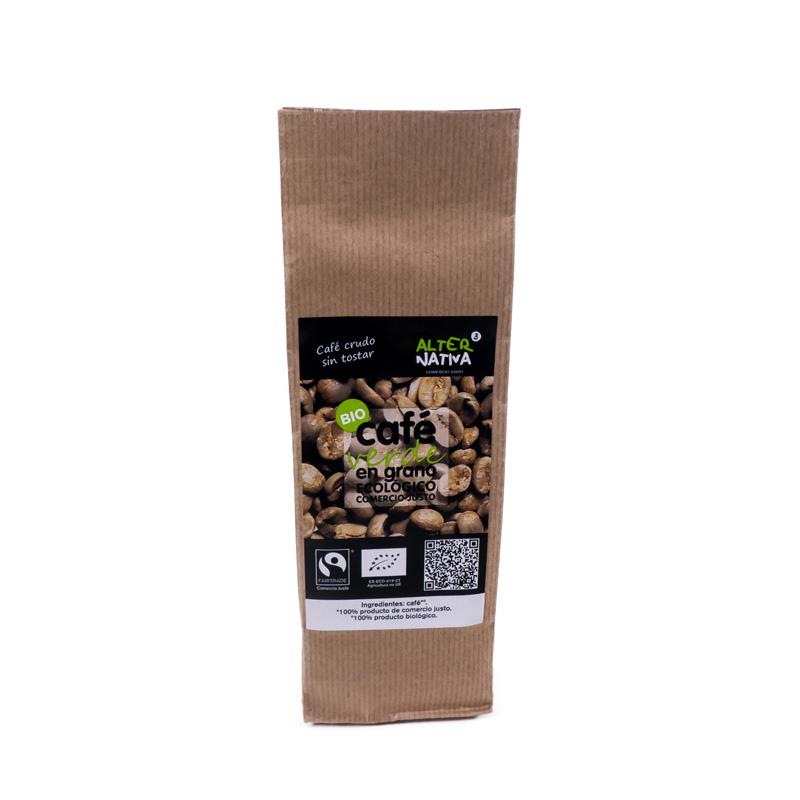 Cafe verde en grano 150 gr. Alternativa