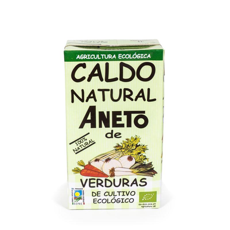Caldo de verduras 1L Aneto