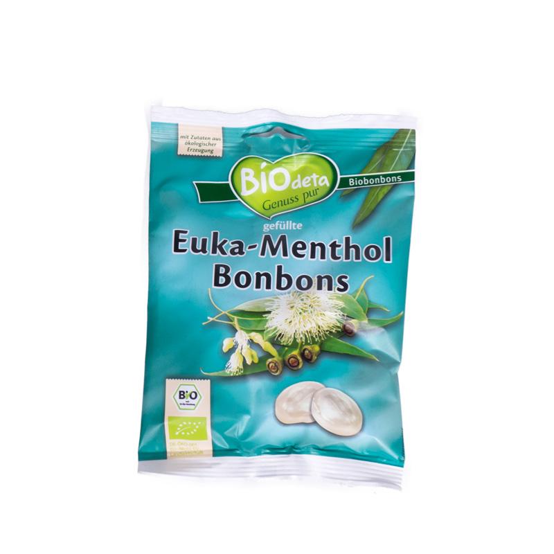 Caramelos de eucaliptus-mentol 75 gr. Biodeta