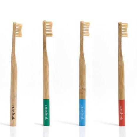 Cepillo dental bambu azul Naturbrush