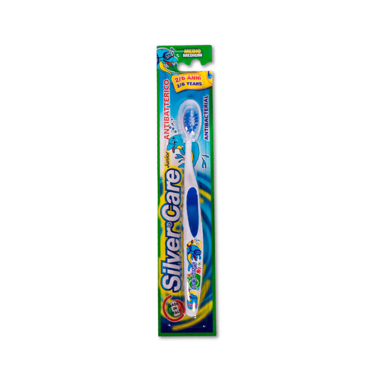 Cepillo dental medio 2-6 años SilverCare
