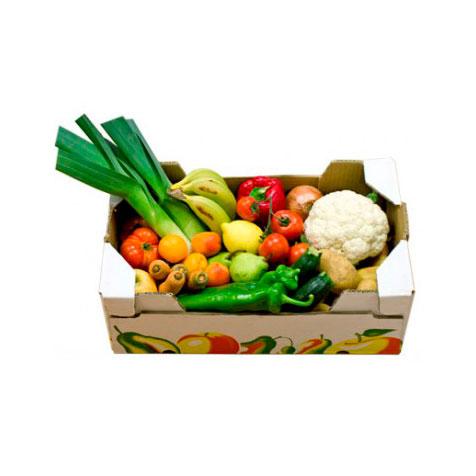 Cesta de fruta y verdura (grande)