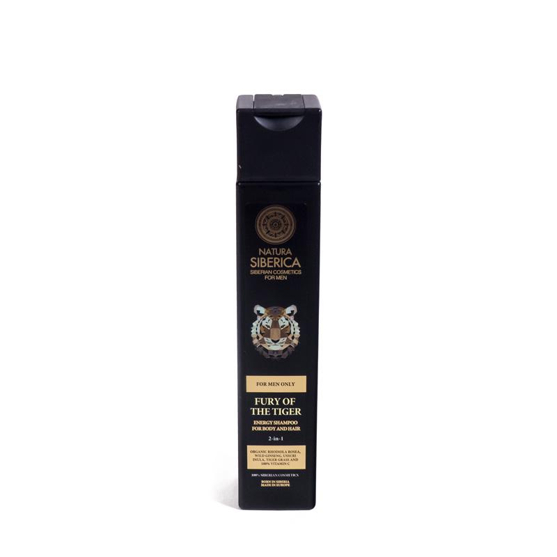 Champu energizante cuerpo y cabello  250 ml. Natura Siberica