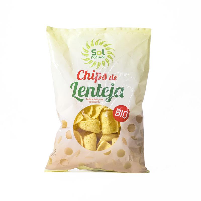 Chips de lentejas 65 gr.Solnatural