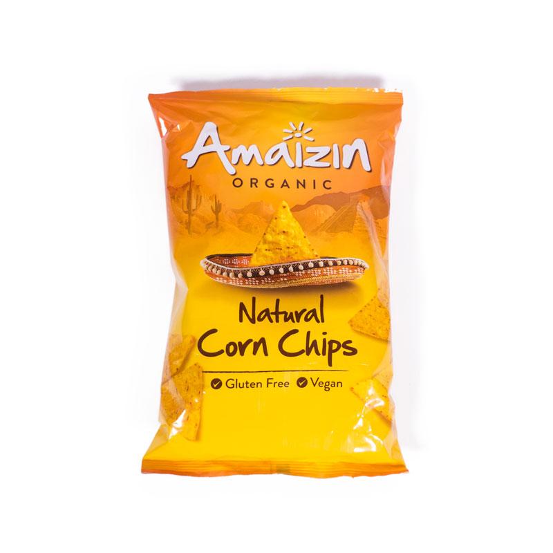Chips de maiz 150 gr. Amaizin