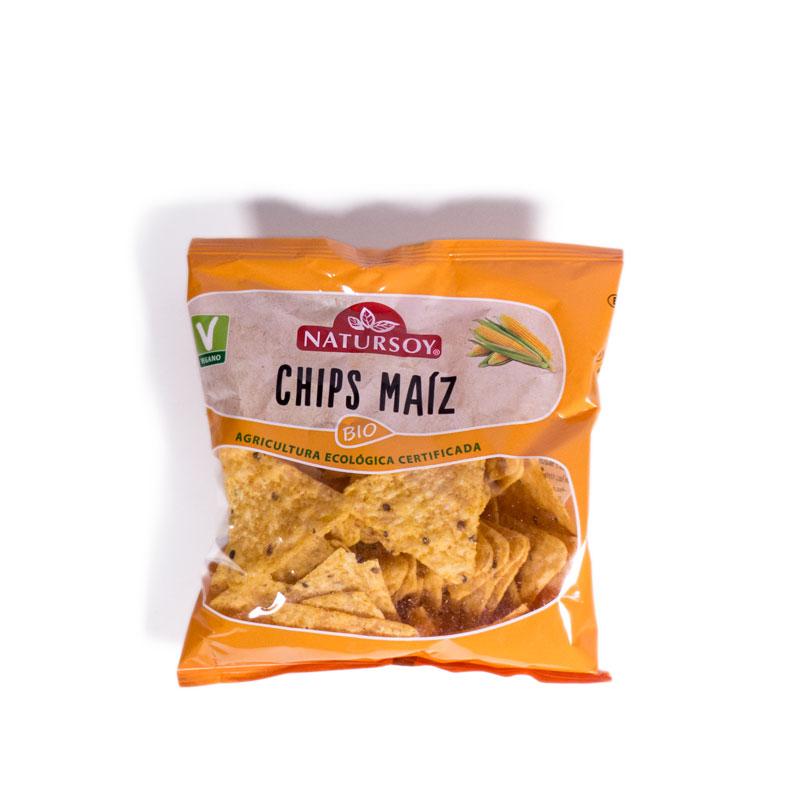Chips de maiz 75 gr. Natursoy
