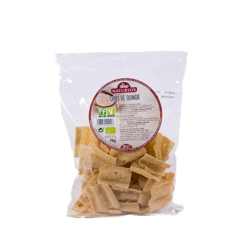 Chips de quinoa 70 gr. Natursoy