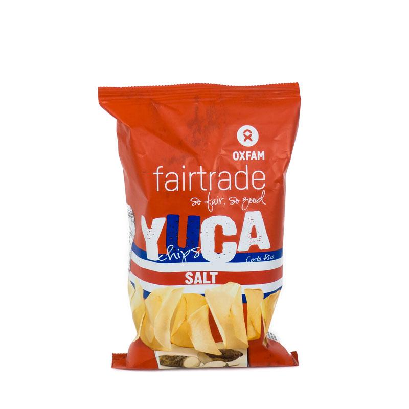 Chips de yuca 50 gr. Intermón Oxfam