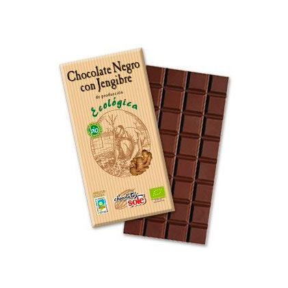 Chocolate jengibre 100 gr. Sole