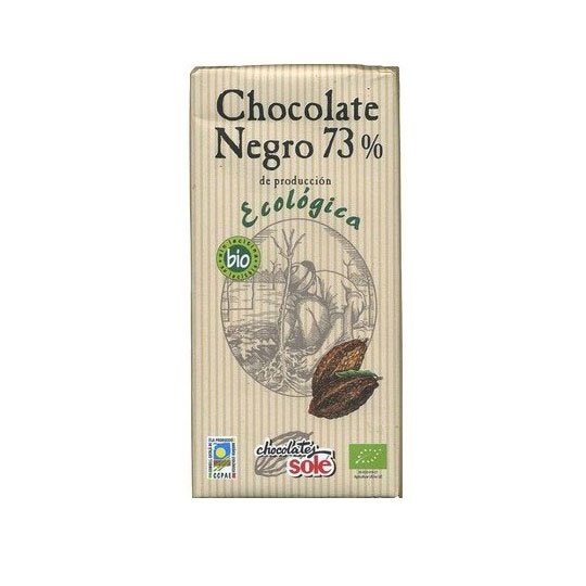 Chocolate negro 73% 100gr Sole