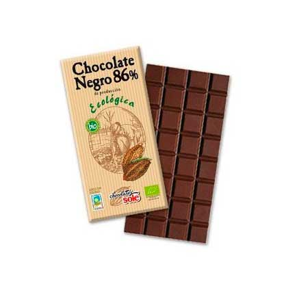 Chocolate negro 86% 100 gr. Sole