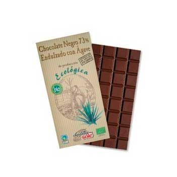 Chocolate negro agave 100gr  Sole