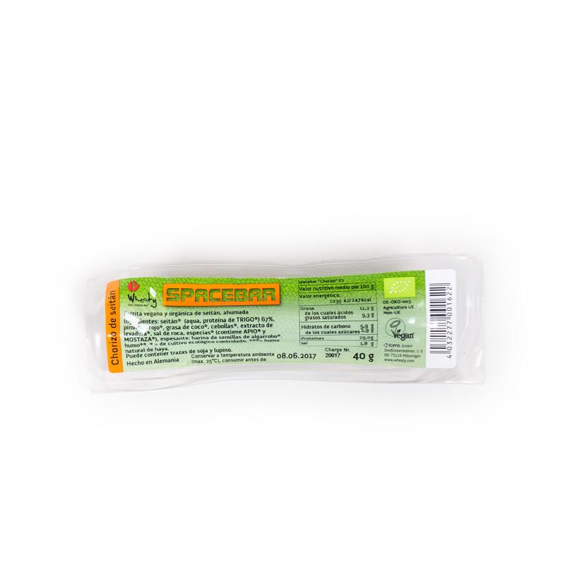 Chorizo vegetal seitan mini 40gr  Wheaty