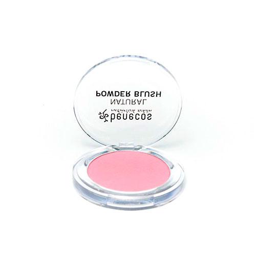 Colorete polvo Mallow Rosé 5,5 gr Benecos