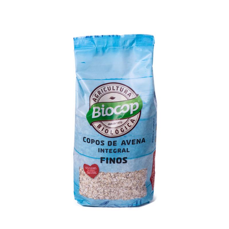 Copos de avena finos 500 gr Biocop