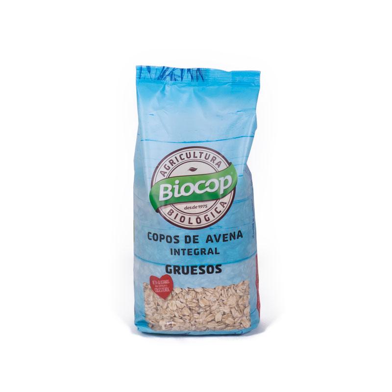 Copos de avena gruesos 500 gr Biocop