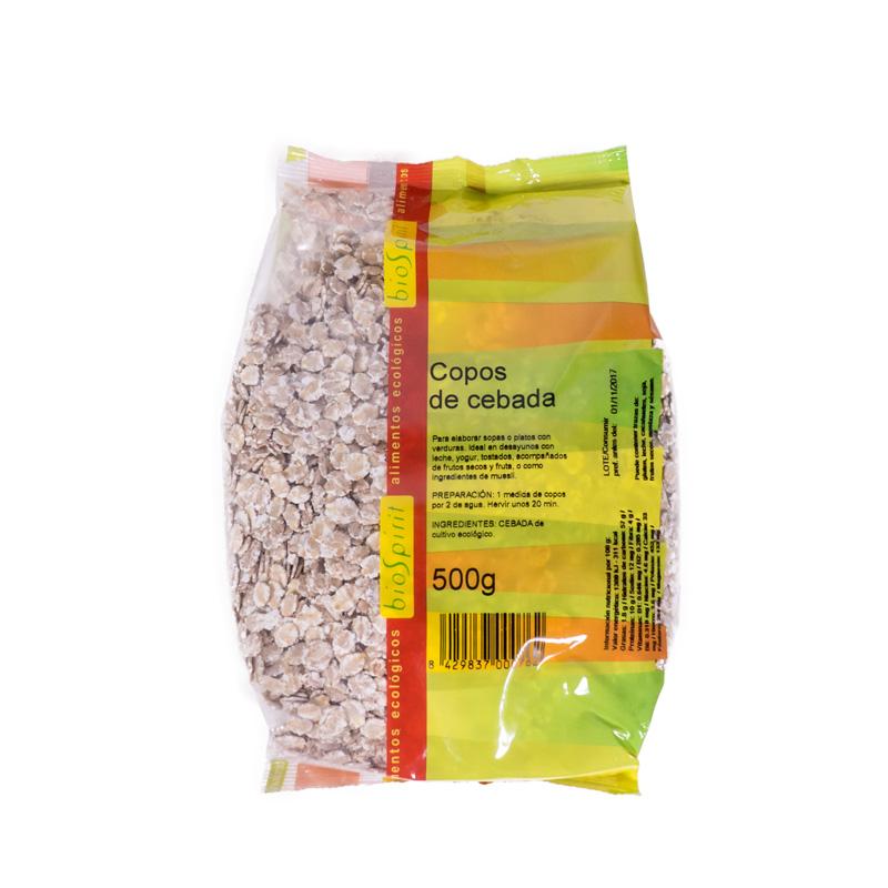 Copos de cebada 500gr Biospirit