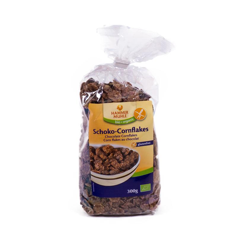 Copos maiz con chocolate sin gluten 250 gr. Hammer