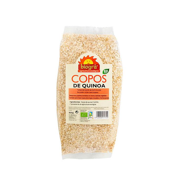 Copos de quinoa 300gr Biogra