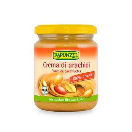 Crema cacahuete 250gr Rapunzel
