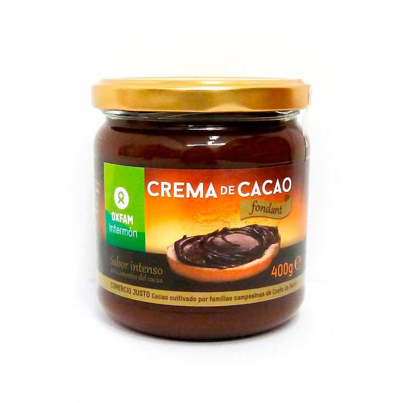 Crema cacao fondant 250 gr. Intermon