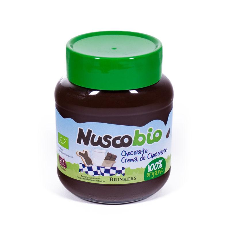 Crema chocolate 400gr Nuscobio