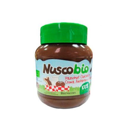 Crema chocolate avellanas 400gr Nuscobio