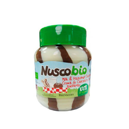 Crema chocolate duo 400gr Nuscobio