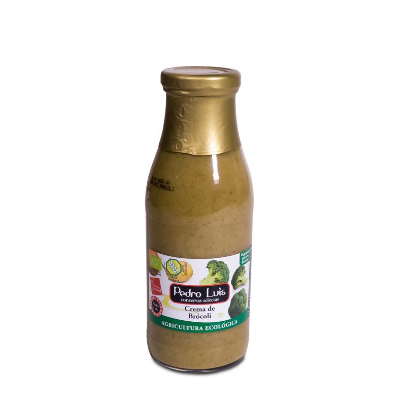 Crema de brocoli 500 ml. Pedro Luis