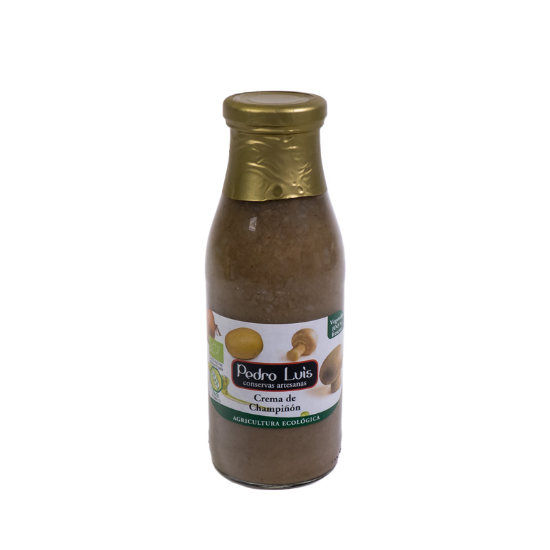 Crema de champiñón 500 ml. Pedro Luis