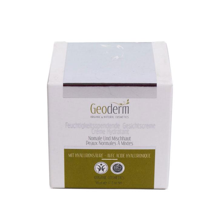 Crema facial hidratante hialurónico 50 ml. Geoderm