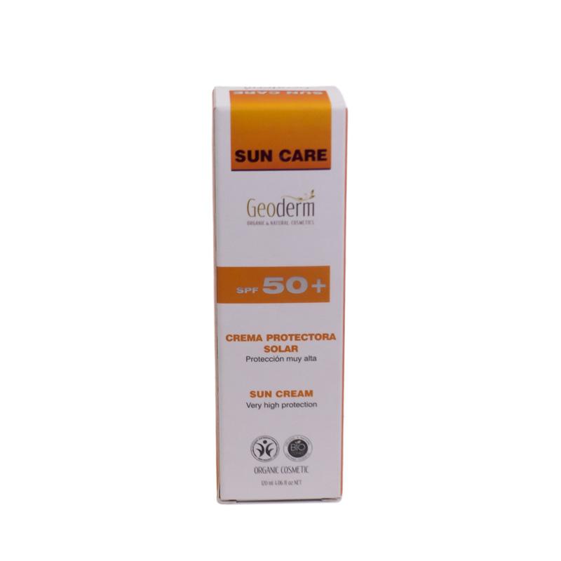 Crema solar FPS +50 120 ml. Geoderm