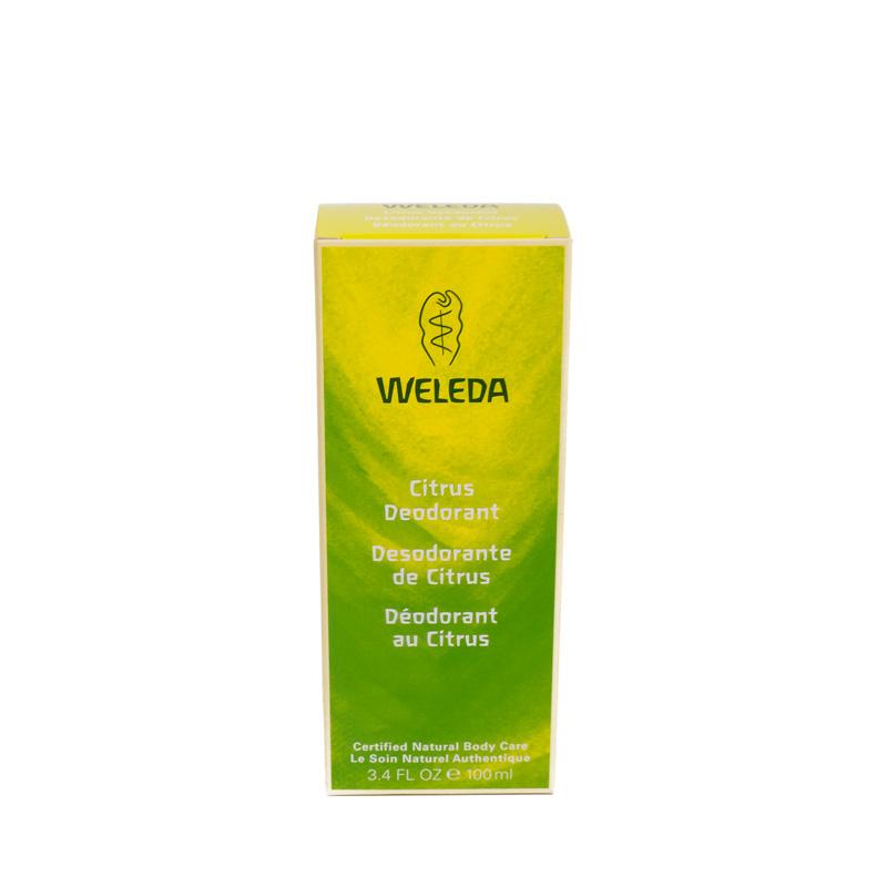 Desodorante de citrus 100 ml. Weleda
