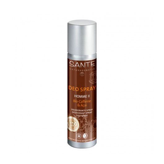 Desodorante spray cafeina & acai 100 ml. Sante