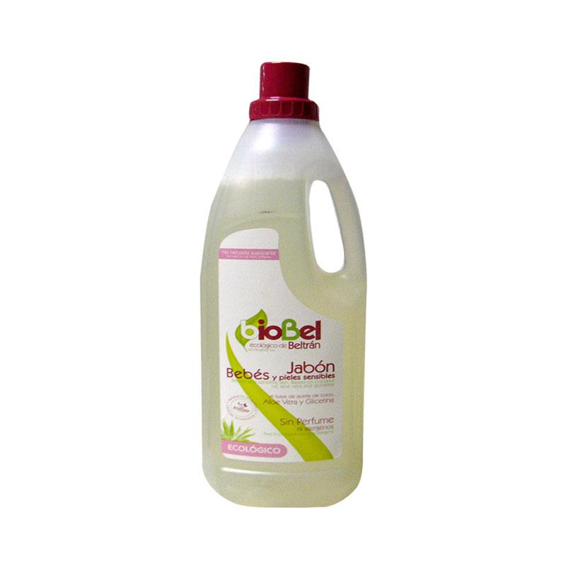Detergente ropa bebe 1,5 L.  Beltran