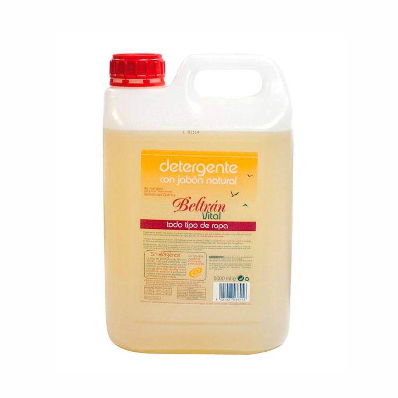 Detergente ropa sin perfume Vital 5 l. Beltran