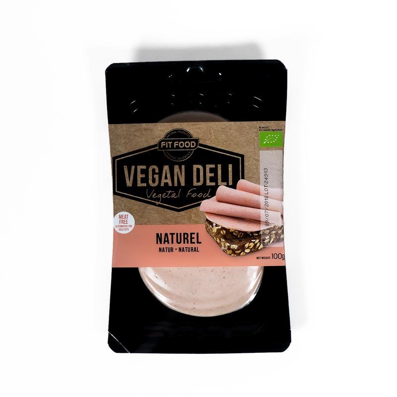 Embutido vegano natural 100 gr. Fit Food