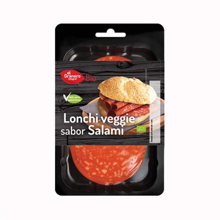 Embutido vegetal salami 100 gr. El Granero