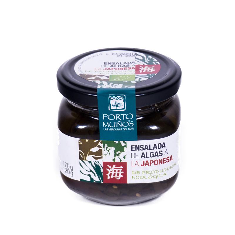 Ensalada algas japonesa 170 gr. Porto-Muiños