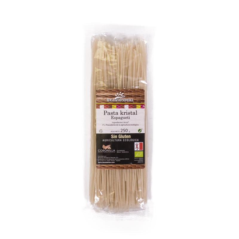 Espagueti de arroz sin gluten 250 gr Oleander