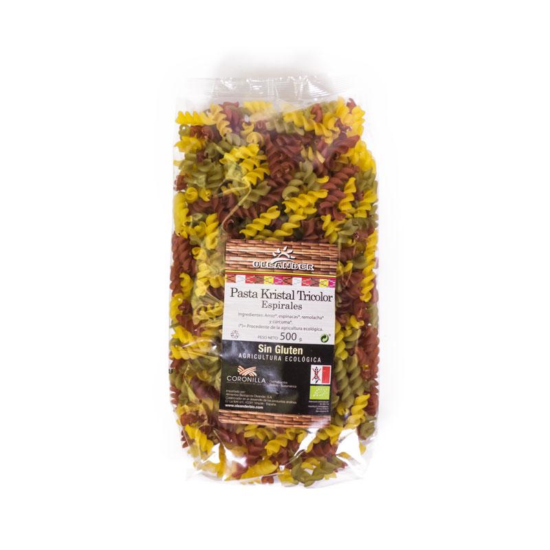 Espirales de colores sin gluten 500 gr Oleander