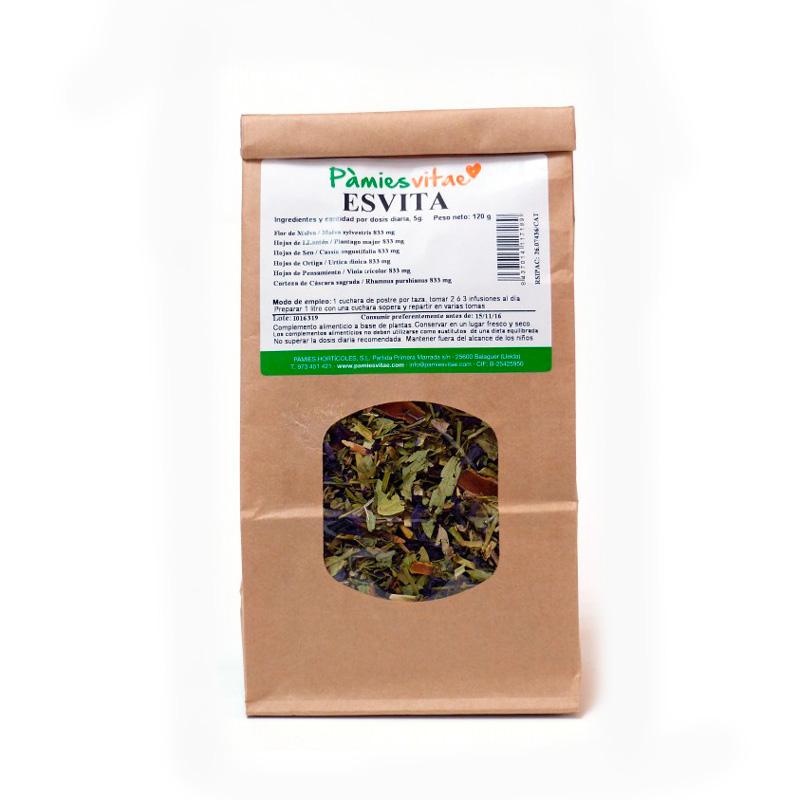 Esvita (estreñimiento) granel 120 gr Pàmies