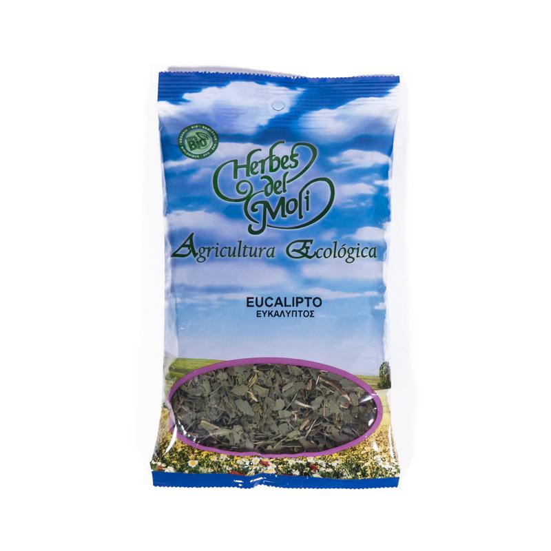 Eucalipto hoja granel 70 gr Herbes del Molí