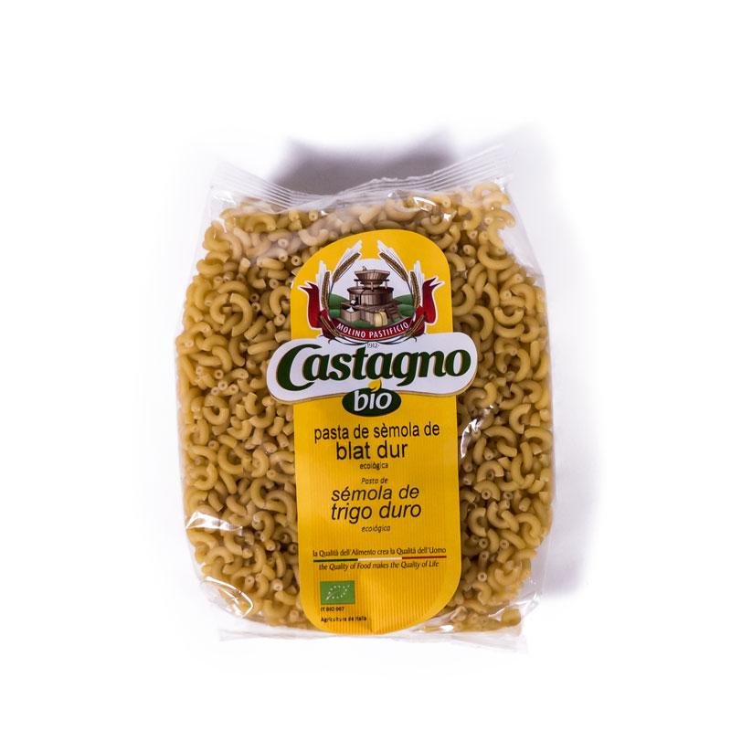Fideo cornetis de trigo 500gr Castagno