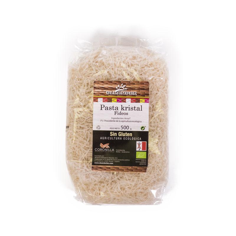 Fideos de arroz sin gluten 500 gr Oleander