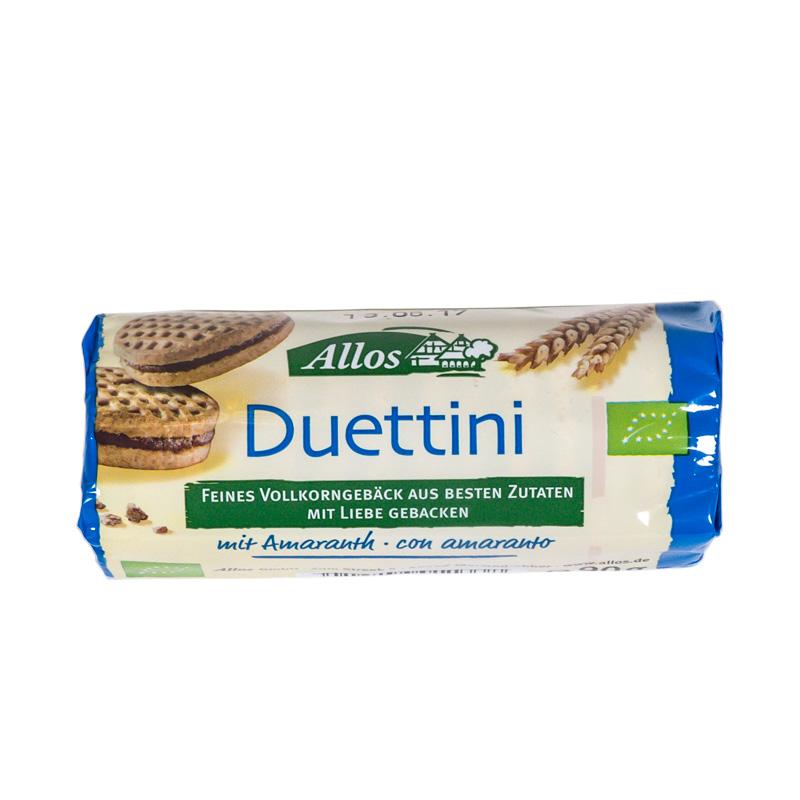 Galleta duetto chocolate 90 gr. Allos