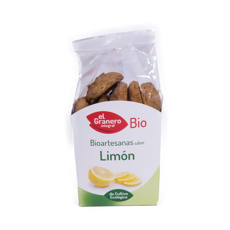Galletas limon con chia 250 gr. El granero